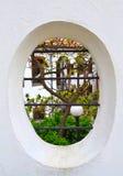 Vieja elipse de la casa Foto de archivo