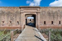 Vieja entrada de Jackson del fuerte Foto de archivo libre de regalías