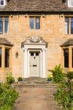 Vieja entrada de la casa Foto de archivo libre de regalías