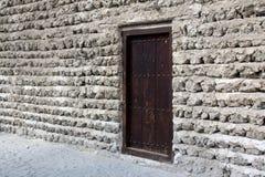 Vieja entrada de la fortaleza Imágenes de archivo libres de regalías