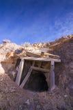 Vieja entrada de la mina Imagenes de archivo