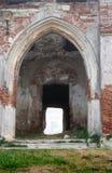 Vieja entrada del castillo Fotografía de archivo libre de regalías