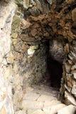 Vieja entrada del sótano Fotografía de archivo