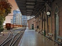 Vieja estación Imagen de archivo libre de regalías