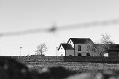 Vieja estación Imagenes de archivo