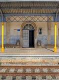 Vieja estación de tren imagen de archivo