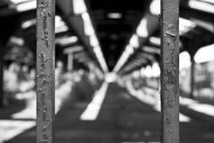 Vieja estación de tren Foto de archivo libre de regalías