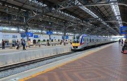 Vieja estación de tren de Kuala Lumpur foto de archivo
