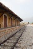 Vieja estación de tren en China Imagen de archivo libre de regalías