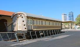 Vieja estación de tren, Tel Aviv Foto de archivo libre de regalías