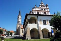 Vieja estructura en Levoca Imagen de archivo