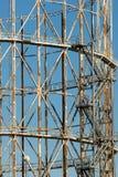 Vieja estructura metálica Imagenes de archivo
