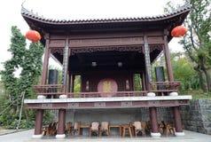 Vieja etapa china Imagenes de archivo