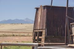 Vieja explotación agrícola imagen de archivo libre de regalías
