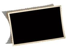 Vieja frontera de la foto fotografía de archivo