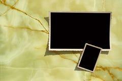 Vieja frontera de la foto foto de archivo libre de regalías