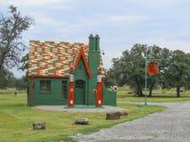 Vieja gasolinera de Phillps 66 - Woolaroc fotos de archivo libres de regalías