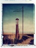 Vieja gasolinera en las praderas Fotografía de archivo libre de regalías