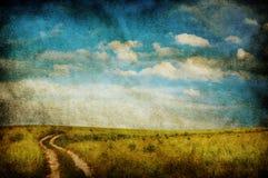 Vieja ilustración sucia Fotos de archivo libres de regalías
