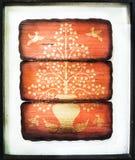 Vieja imagen del este asiática figura imagen de archivo libre de regalías