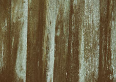 Vieja línea de madera de la grieta del fondo de la cerca Fotos de archivo
