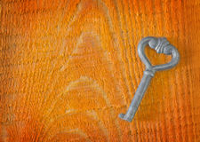 Vieja llave Imágenes de archivo libres de regalías