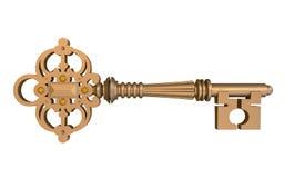 Vieja llave Foto de archivo libre de regalías
