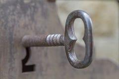 Vieja llave Fotografía de archivo libre de regalías