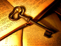 Vieja llave Imagenes de archivo