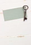 Vieja llave Imagen de archivo libre de regalías