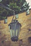 Vieja luz Imagen de archivo libre de regalías