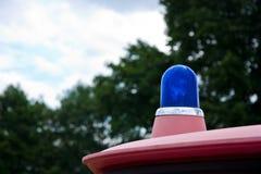Vieja luz azul Imagen de archivo libre de regalías