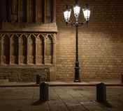 Vieja luz de calle Imágenes de archivo libres de regalías