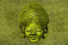 Vieja máscara cultura-histórica Foto de archivo libre de regalías