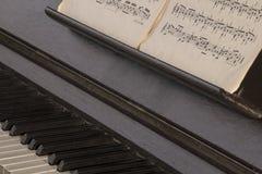 Vieja música Imagen de archivo libre de regalías