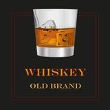Vieja marca del whisky Fotografía de archivo libre de regalías