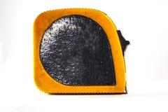 Vieja medición amarillo-negra Imagen de archivo libre de regalías