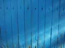 Vieja mirada de madera azul perfecta del fondo fotos de archivo libres de regalías