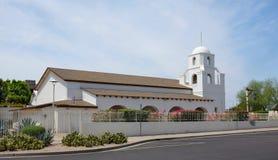 Vieja misión Scottsdale AZ de Adobe Fotos de archivo