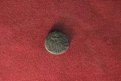 Vieja moneda india Fotografía de archivo