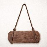 Vieja muestra de madera Foto de archivo libre de regalías