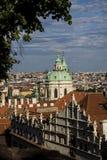 Vieja opinión de Praga Imágenes de archivo libres de regalías