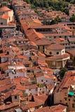 Vieja opinión Florencia de la ciudad. imagenes de archivo