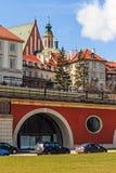 Vieja opinión de la ciudad, Varsovia Imagen de archivo