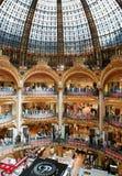 Vieja parte (clásica) de las galerías Lafayette Fotos de archivo libres de regalías