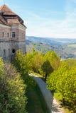 Vieja parte de una abadía austríaca Fotografía de archivo