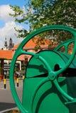 Vieja parte de Zemun, Serbia fotos de archivo libres de regalías