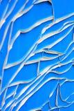 Vieja pintura agrietada Imagen de archivo libre de regalías
