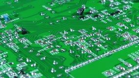 Vieja placa de circuito electrónica de la TV metrajes
