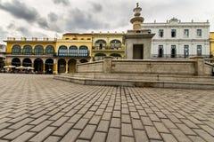 Vieja Plaza στο Λα Αβάνα Στοκ εικόνα με δικαίωμα ελεύθερης χρήσης